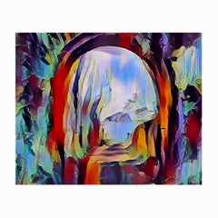 Abstract Tunnel Small Glasses Cloth