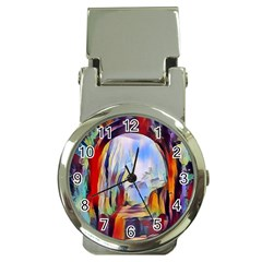 Abstract Tunnel Money Clip Watches
