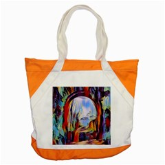 Abstract Tunnel Accent Tote Bag