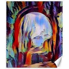 Abstract Tunnel Canvas 20  X 24
