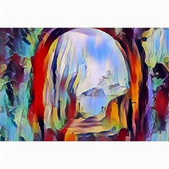 Abstract Tunnel Canvas 24  X 36
