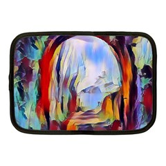 Abstract Tunnel Netbook Case (medium)