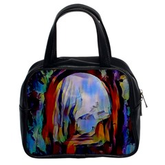 Abstract Tunnel Classic Handbags (2 Sides)