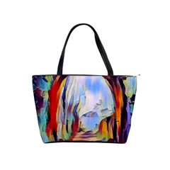 Abstract Tunnel Shoulder Handbags