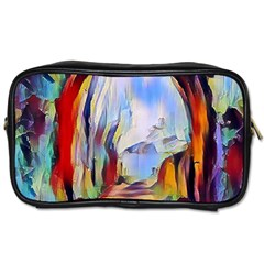 Abstract Tunnel Toiletries Bags