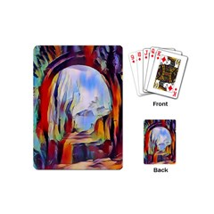 Abstract Tunnel Playing Cards (mini)