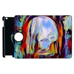 Abstract Tunnel Apple Ipad 3/4 Flip 360 Case