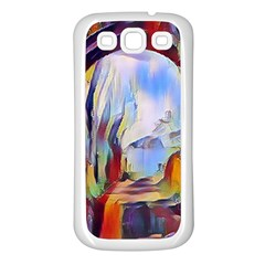 Abstract Tunnel Samsung Galaxy S3 Back Case (white)