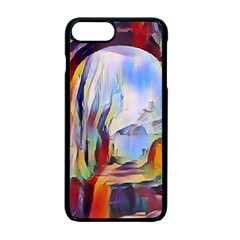 Abstract Tunnel Apple Iphone 7 Plus Seamless Case (black)
