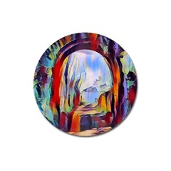 Abstract Tunnel Magnet 3  (round)