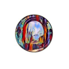 Abstract Tunnel Hat Clip Ball Marker (4 Pack)