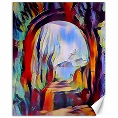 Abstract Tunnel Canvas 16  X 20