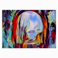 Abstract Tunnel Large Glasses Cloth (2 Side)