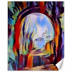 Abstract Tunnel Canvas 11  X 14