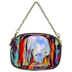 Abstract Tunnel Chain Purses (one Side)