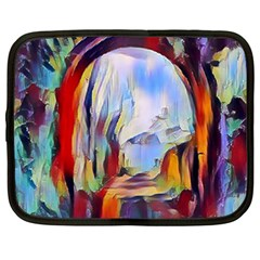 Abstract Tunnel Netbook Case (xxl)