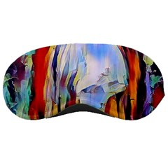 Abstract Tunnel Sleeping Masks