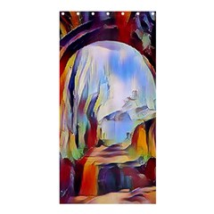 Abstract Tunnel Shower Curtain 36  X 72  (stall)