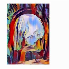 Abstract Tunnel Large Garden Flag (two Sides)