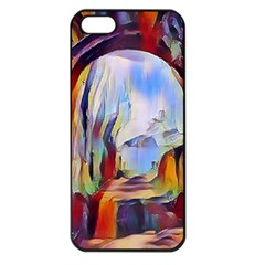Abstract Tunnel Apple Iphone 5 Seamless Case (black)