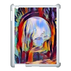 Abstract Tunnel Apple Ipad 3/4 Case (white)