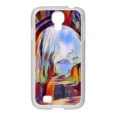 Abstract Tunnel Samsung Galaxy S4 I9500/ I9505 Case (white)