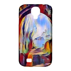 Abstract Tunnel Samsung Galaxy S4 Classic Hardshell Case (pc+silicone)