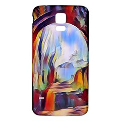 Abstract Tunnel Samsung Galaxy S5 Back Case (white)