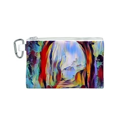 Abstract Tunnel Canvas Cosmetic Bag (s)