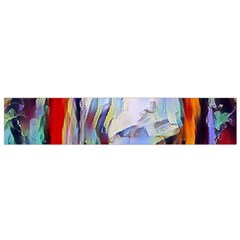 Abstract Tunnel Flano Scarf (small)