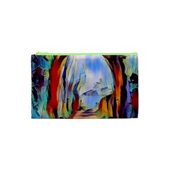 Abstract Tunnel Cosmetic Bag (xs)