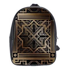 Art Nouveau School Bag (large)