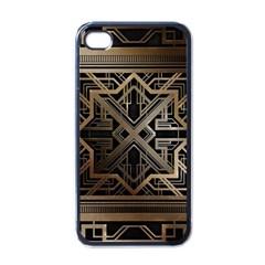 Art Nouveau Apple Iphone 4 Case (black)