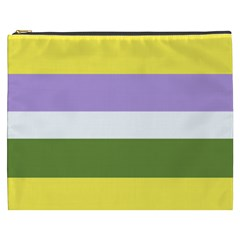 Bin Stripes Cosmetic Bag (xxxl)