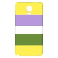 Bin Stripes Galaxy Note 4 Back Case