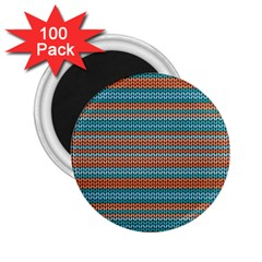 Winter Pattern 1 2 25  Magnets (100 Pack)