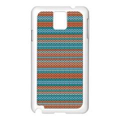 Winter Pattern 1 Samsung Galaxy Note 3 N9005 Case (white)