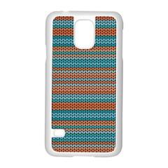 Winter Pattern 1 Samsung Galaxy S5 Case (white)