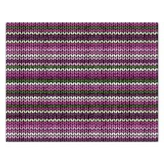 Winter Pattern 2 Rectangular Jigsaw Puzzl