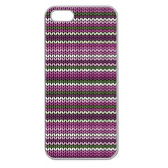 Winter Pattern 2 Apple Seamless Iphone 5 Case (clear)