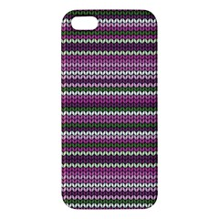 Winter Pattern 2 Apple Iphone 5 Premium Hardshell Case
