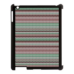 Winter Pattern 3 Apple Ipad 3/4 Case (black)