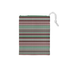 Winter Pattern 3 Drawstring Pouches (small)