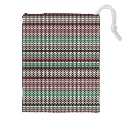 Winter Pattern 3 Drawstring Pouches (xxl)