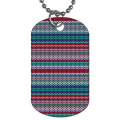Winter Pattern 4 Dog Tag (one Side)
