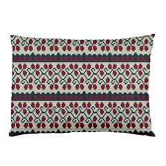 Winter Pattern 5 Pillow Case (two Sides)