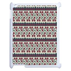 Winter Pattern 5 Apple Ipad 2 Case (white)