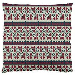 Winter Pattern 5 Large Cushion Case (one Side)