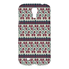 Winter Pattern 5 Samsung Galaxy S4 I9500/i9505 Hardshell Case