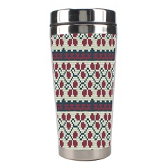 Winter Pattern 5 Stainless Steel Travel Tumblers